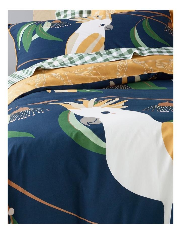 Balancing Birds Cotton Quilt Cover Set image 2