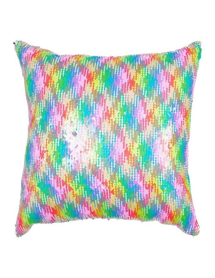 Razzle Dazzle Reversible Sequined Cushion image 1