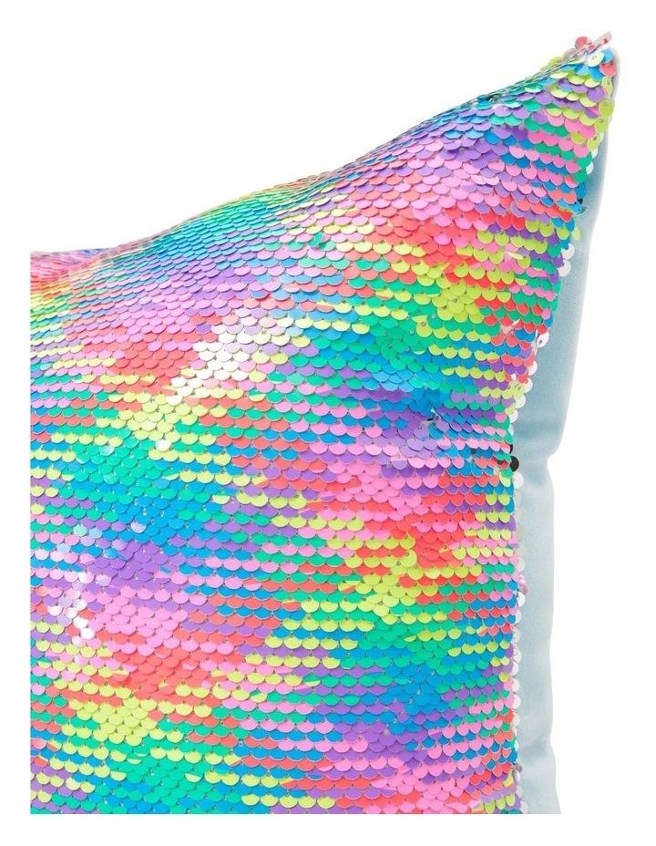 Razzle Dazzle Reversible Sequined Cushion image 2