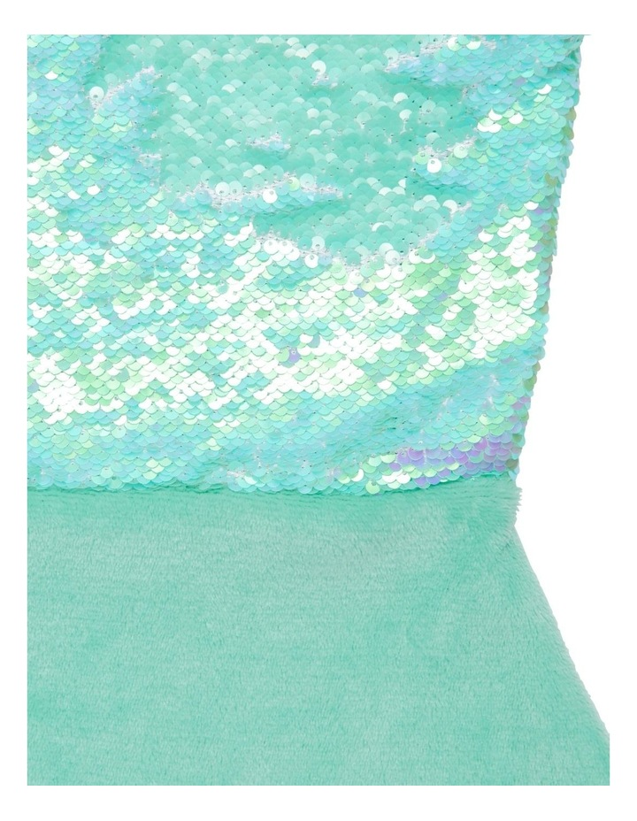 Sparkle Fin Mermaid Tail Blanket image 2