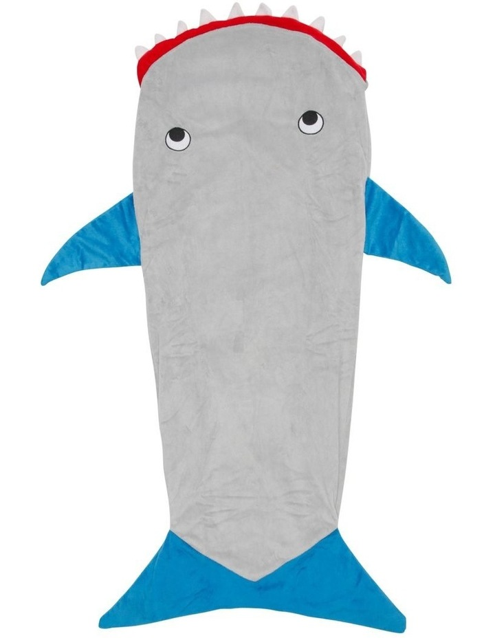 Shark Bite Shark Tail Blanket image 1