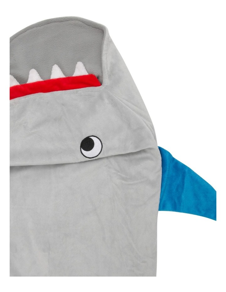 Shark Bite Shark Tail Blanket image 2