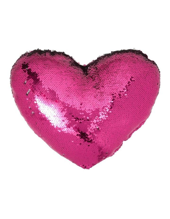 Shimmer Heart Cushion image 1