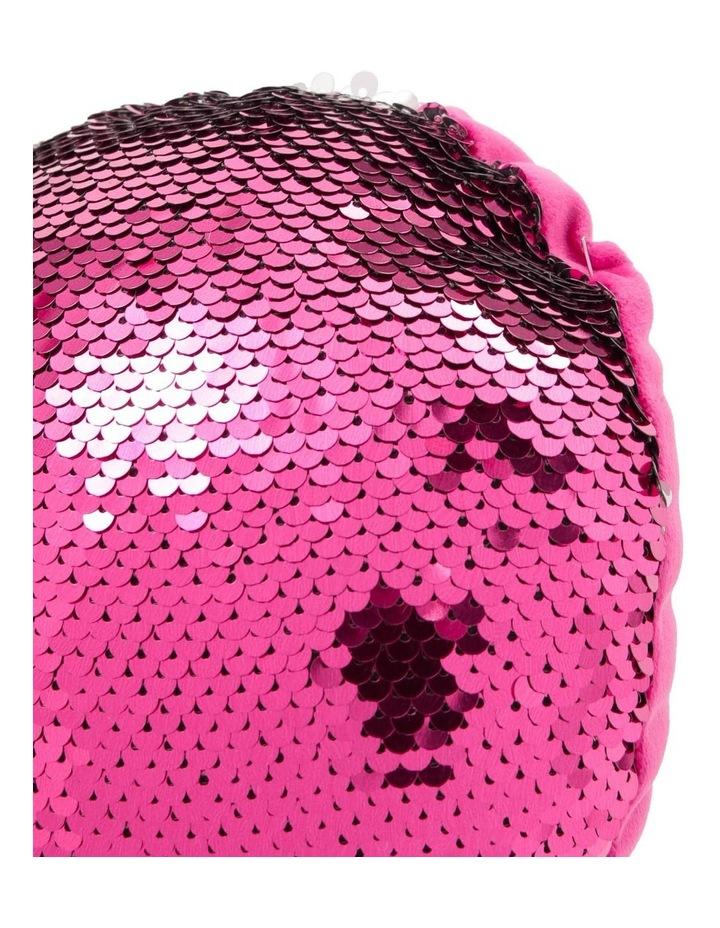 Shimmer Heart Cushion image 2
