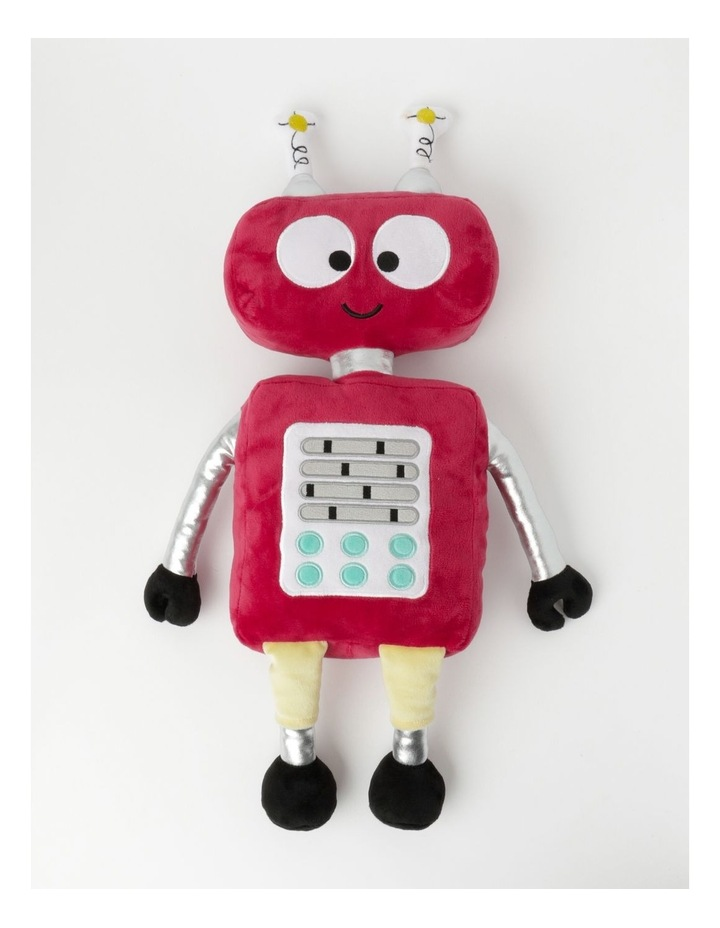 Robots Plush Cushion in Red image 1