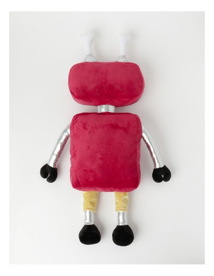 Robots Plush Cushion in Red image 2