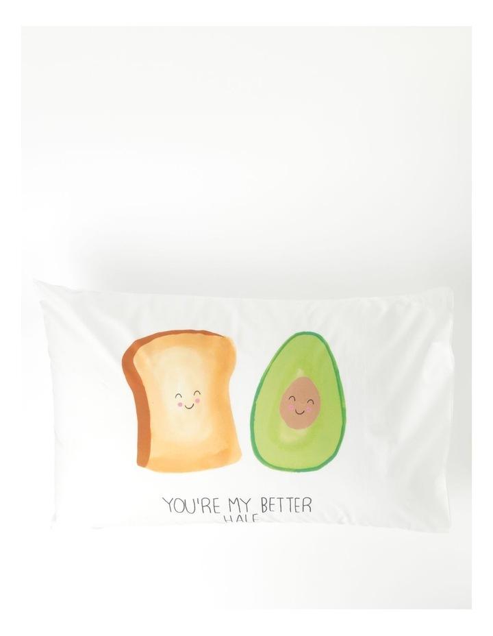 Better Half Pillowcase in Multicolour image 1