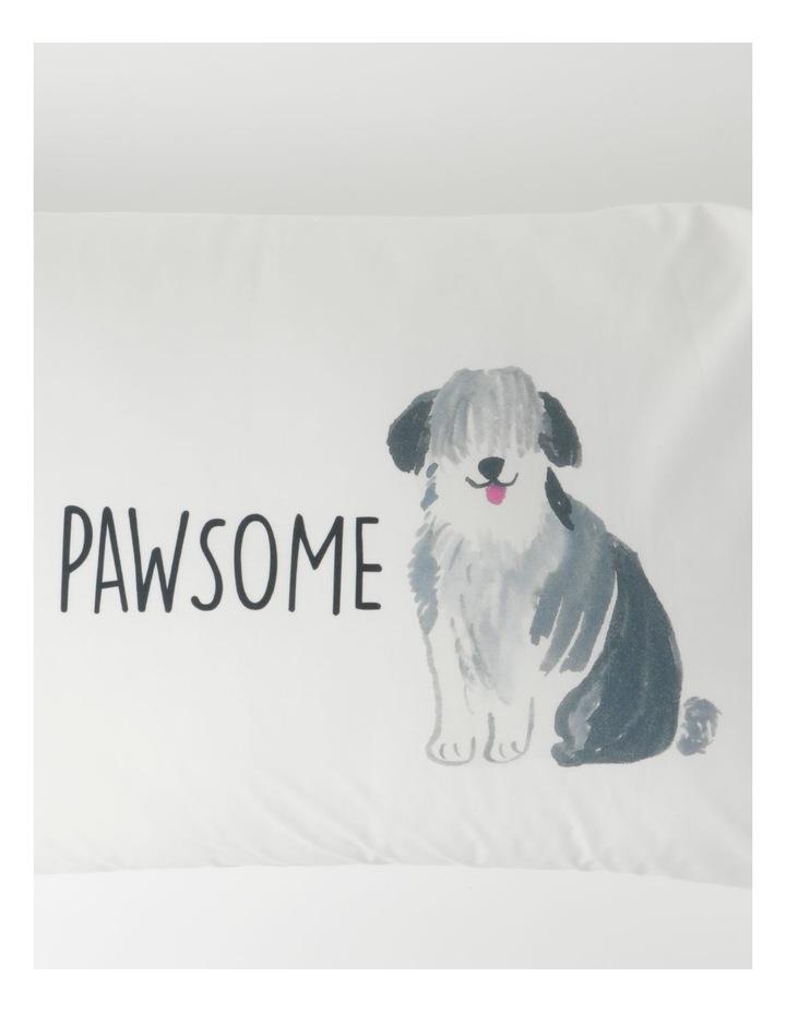 You're Pawsome Pillowcase in Multicolour image 2