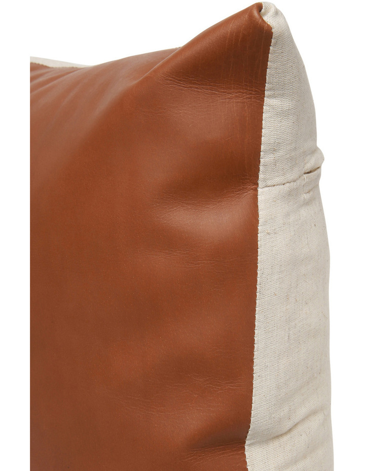 Buffalo Leather Cushion image 2