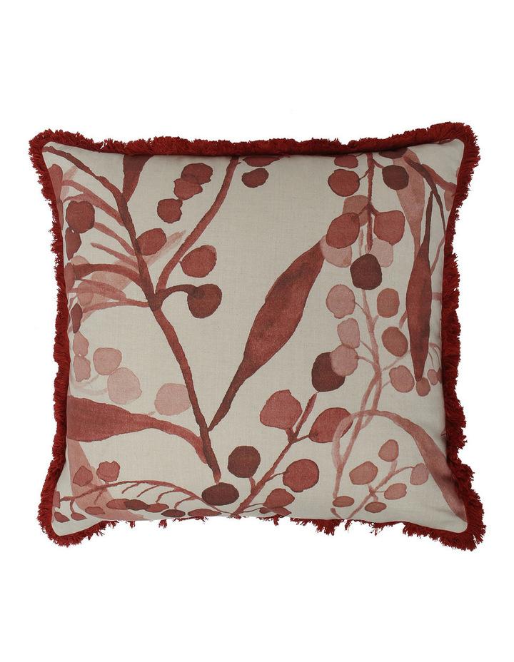 Wattle Cushion in Burnt Henna image 1