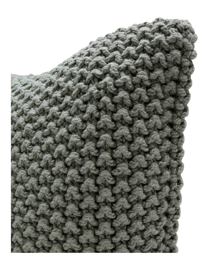 Australian House Garden Norwood Knitted Cushion In Moonbeam