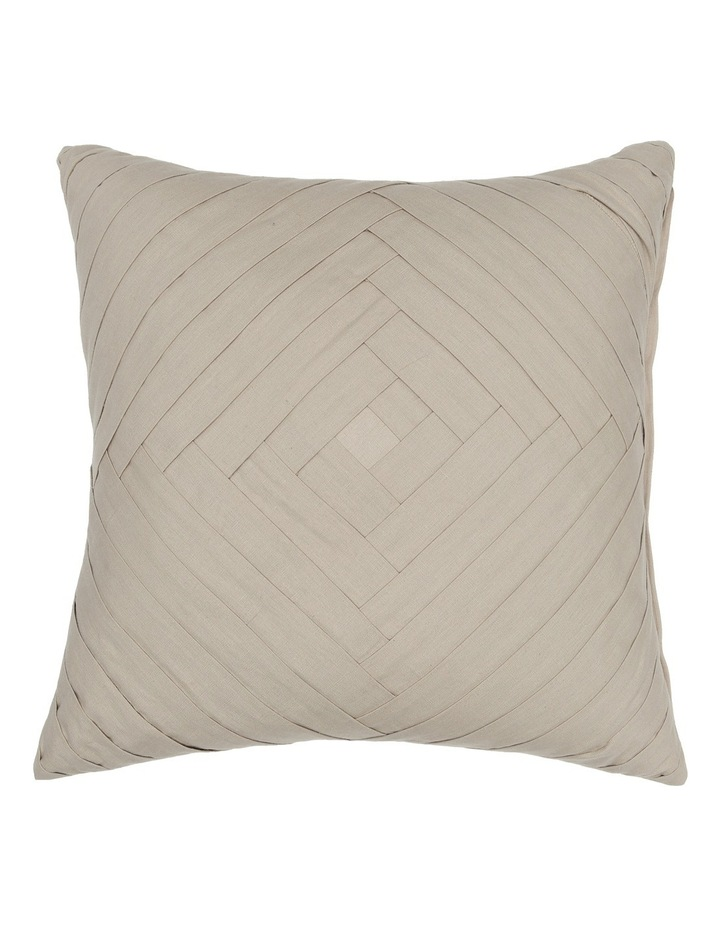 Mimosa Pleated Cushion in Natural image 1