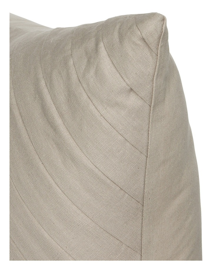 Mimosa Pleated Cushion in Natural image 2