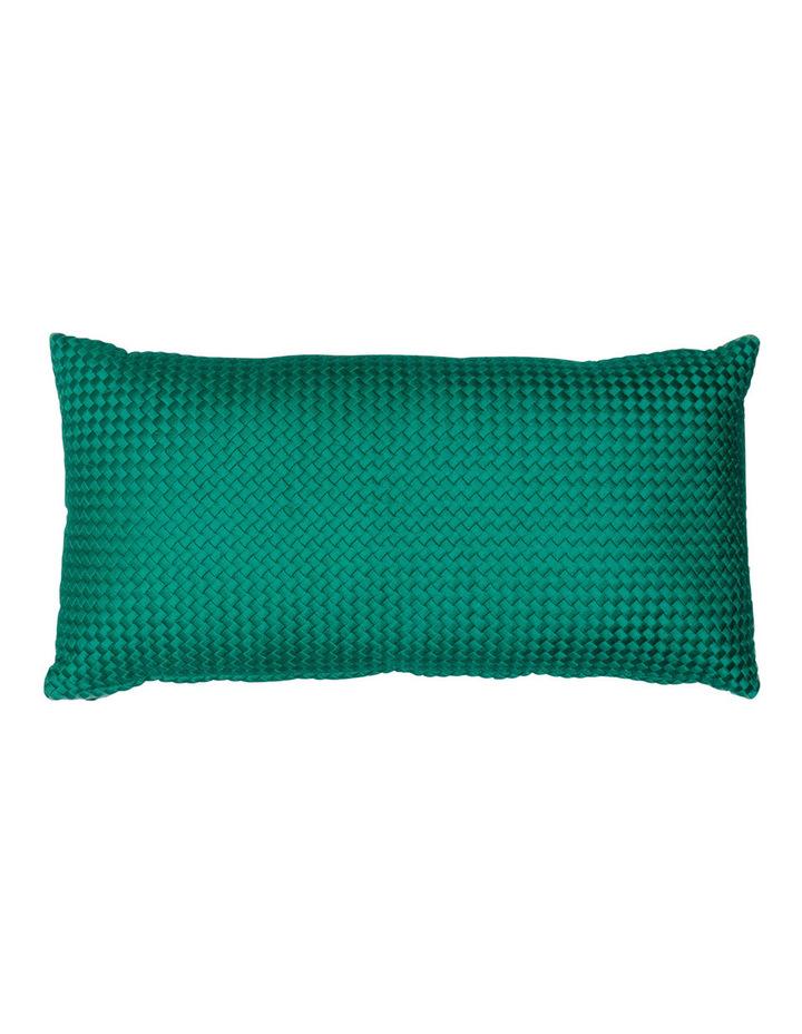 Cardamine Embroidered Blocked Cushion image 1