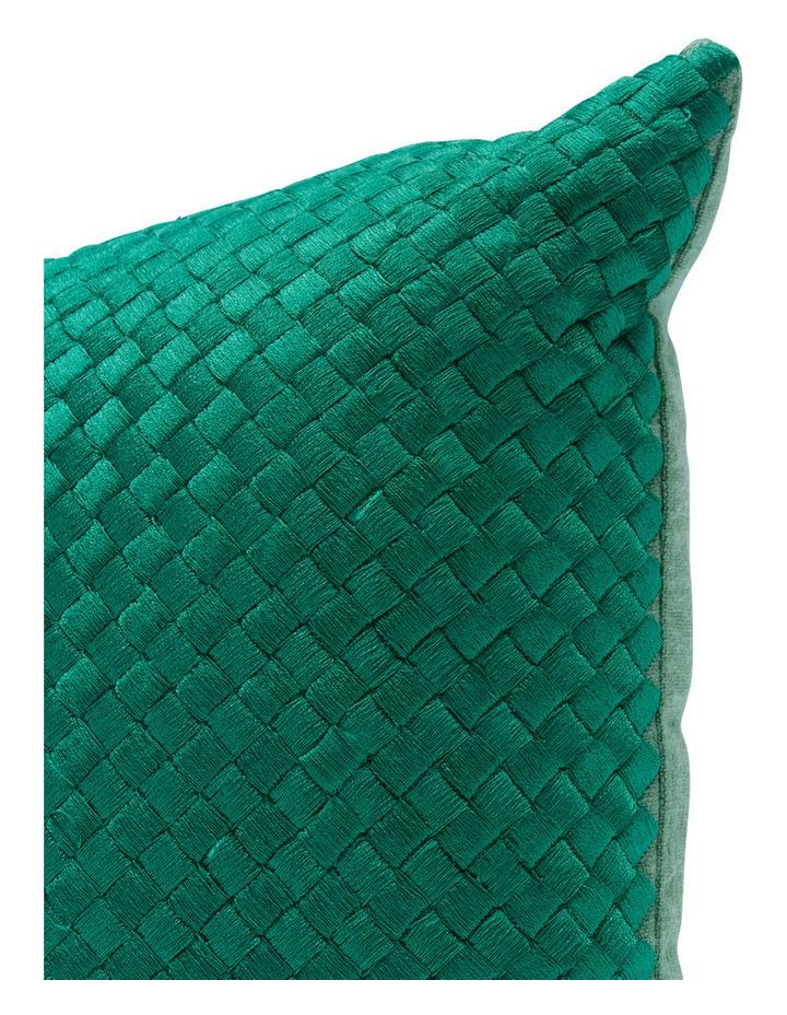 Cardamine Embroidered Blocked Cushion image 2