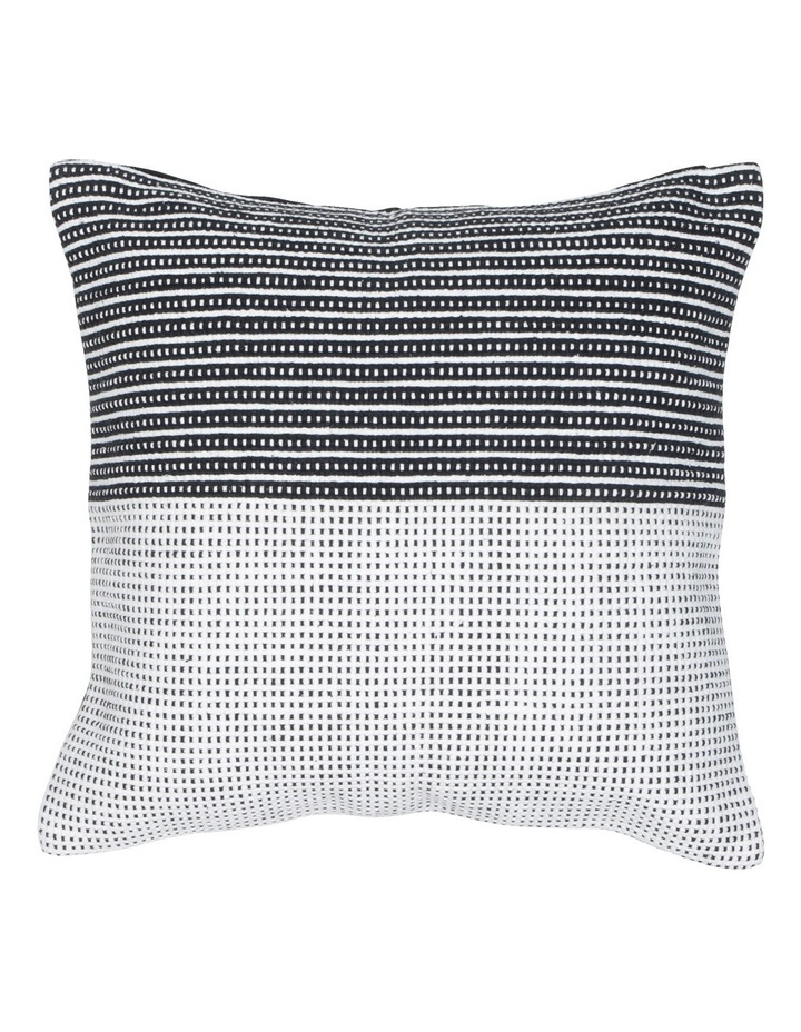Cubic Cushion in Black/Natural image 1