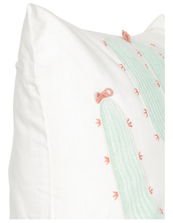 Cuyo Cushion in Cream/Green image 2