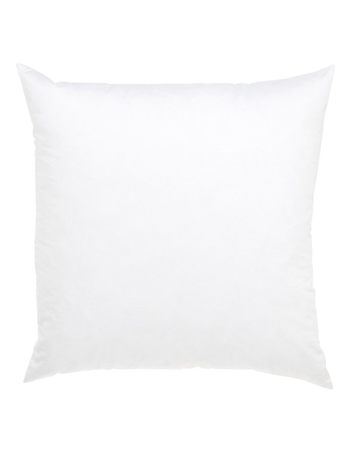 Chatou Duck Feather Cushion Insert in White image 1