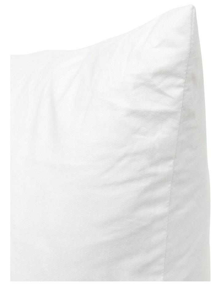 Chatou Duck Feather Cushion Insert in White image 2