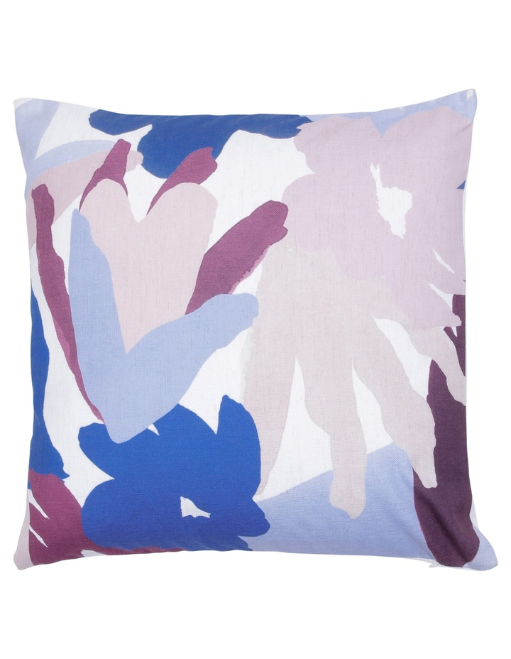 Morocco Printed Cushion in Pink/Blue image 1