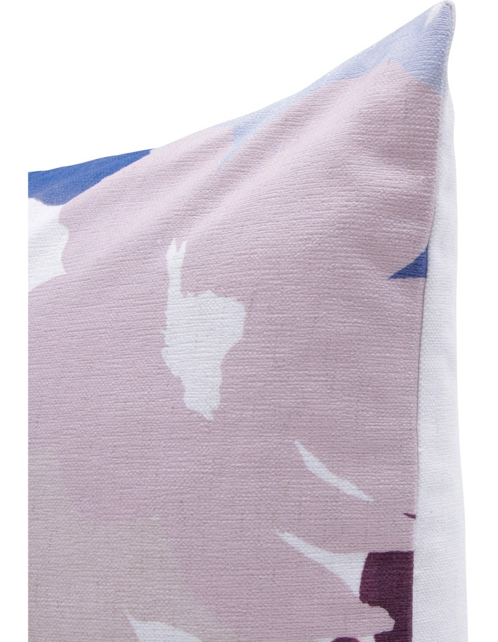 Morocco Printed Cushion in Pink/Blue image 2