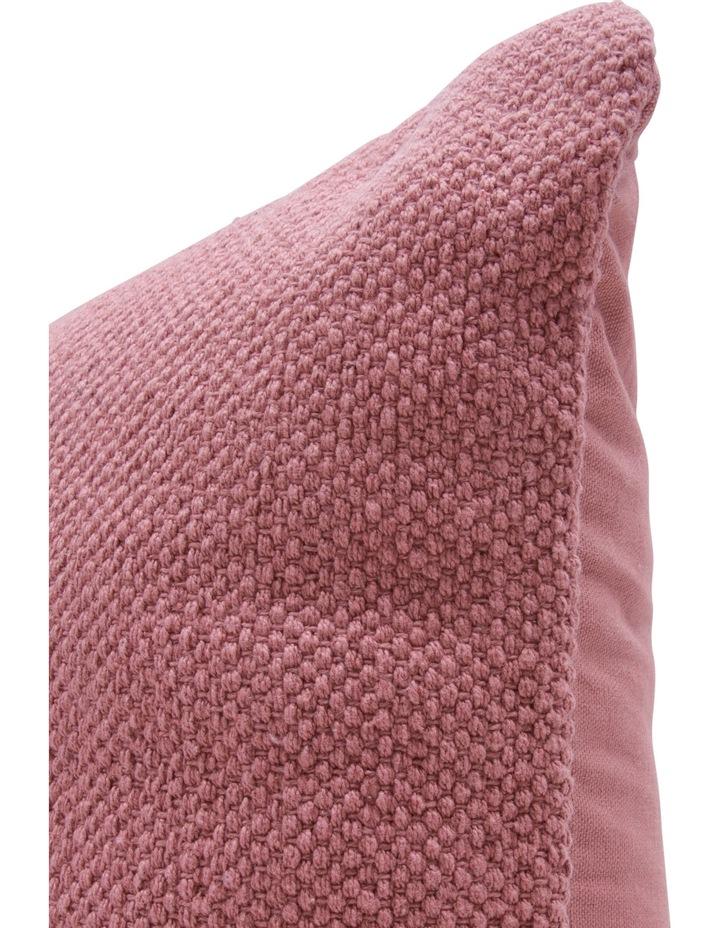 Dallas Cotton Cushion in Rose image 2
