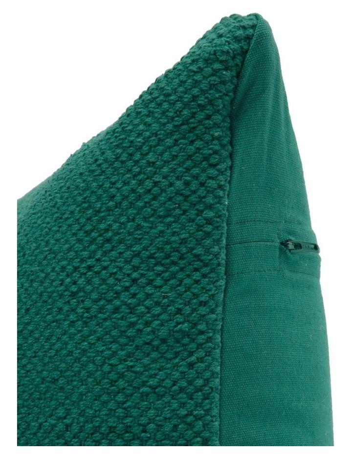 Dallas Cotton Cushion - Everglade Green image 2