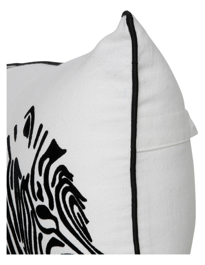 Zapara Zebra Cush 30x60: White image 2