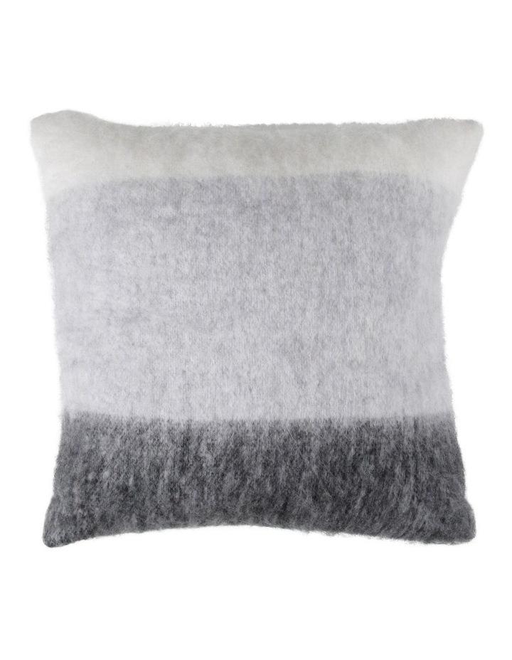 Lora Wool Blend Cushion in Black/white image 1