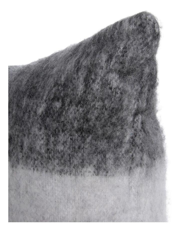 Lora Wool Blend Cushion in Black/white image 2