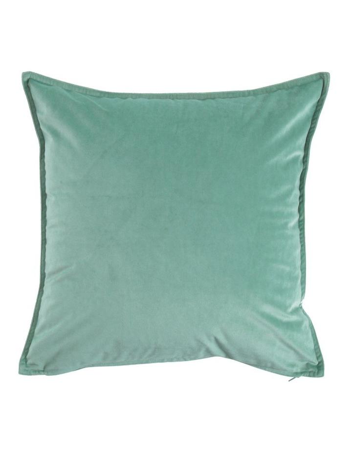 Vivienne Velvet Cushion in Sage image 1