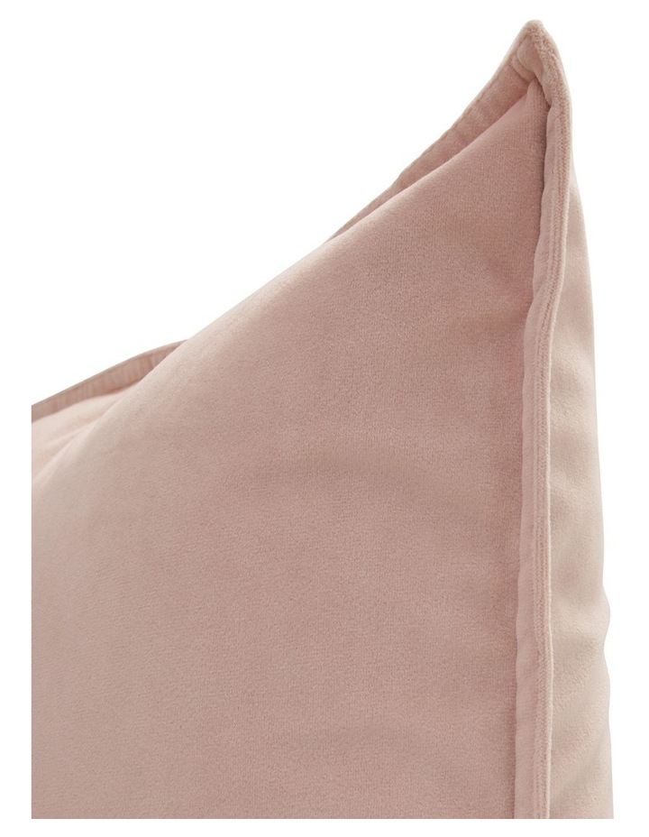 Vivienne Velvet Cushion in Lilac image 2