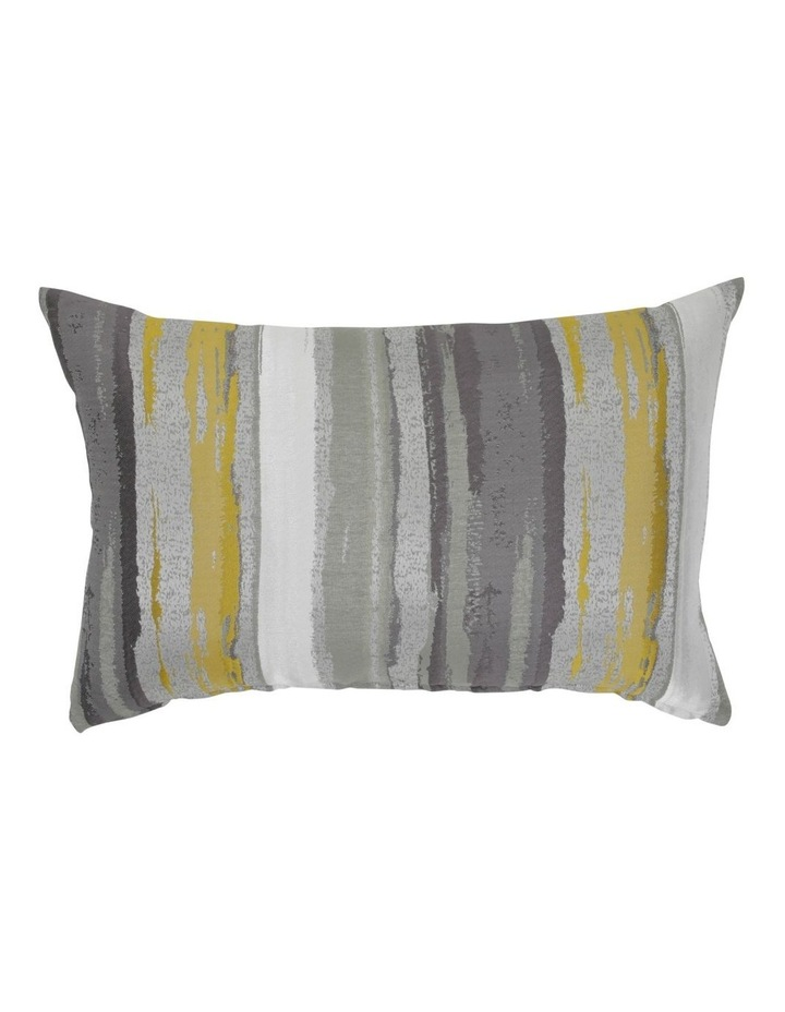 Celsian Jacquard Cushion In Grey/Rose image 1