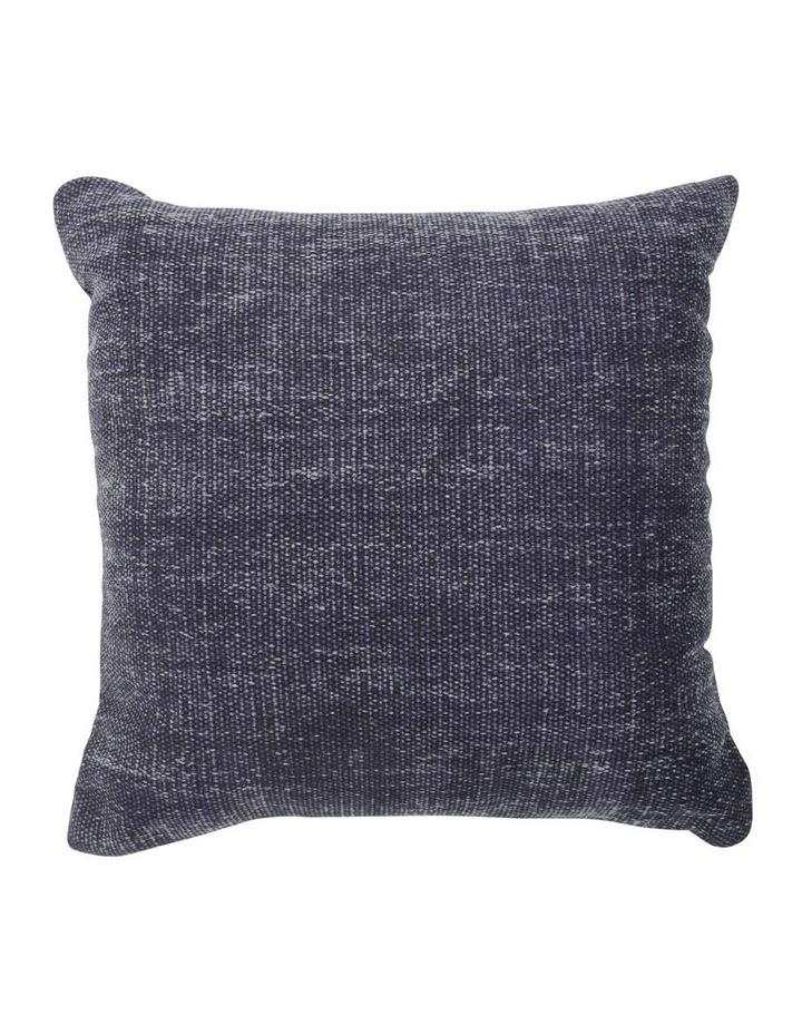 Elliston Cotton Cushion in Indigo image 1