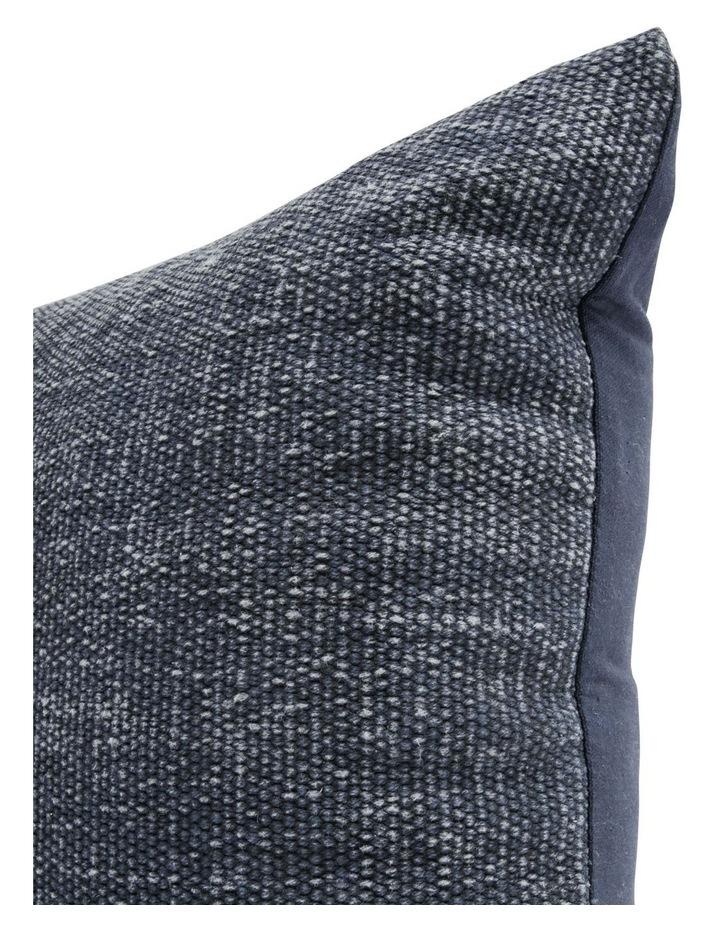 Elliston Cotton Cushion in Indigo image 2