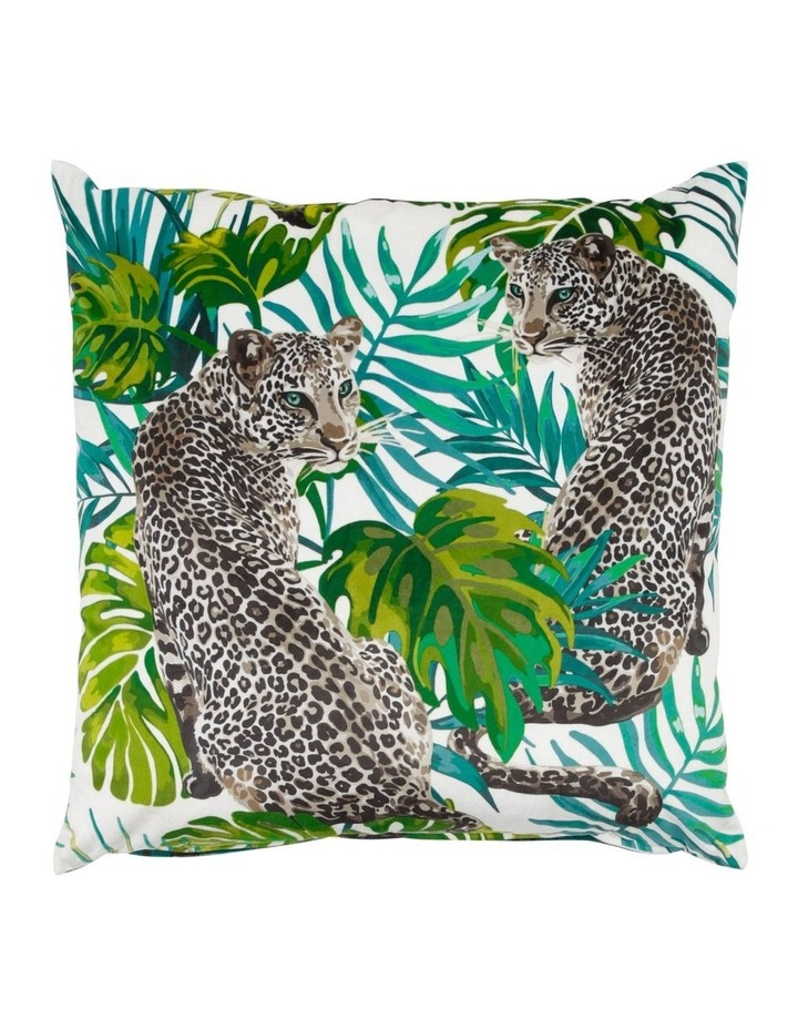 Martinique Cushion in Green Grey image 1