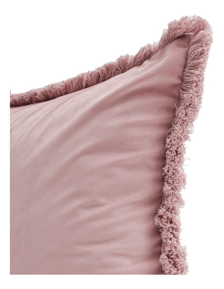 Burma Fringe Cushion in Pink image 2