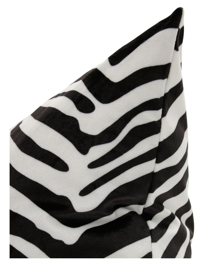 Comoros Digital Printed Cushion - Black/White image 2