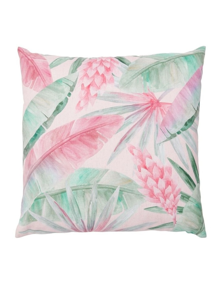 Pentas Digital Print Cushion in Pink image 1