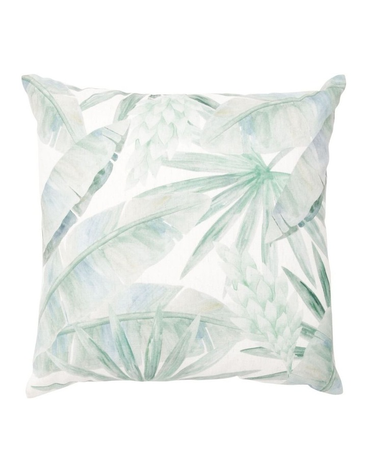 Pentas Digital Print Cushion - Green image 1