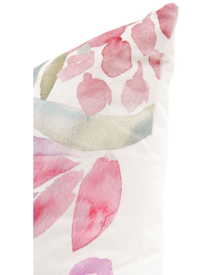 Oxalis Velvet Cushion image 2