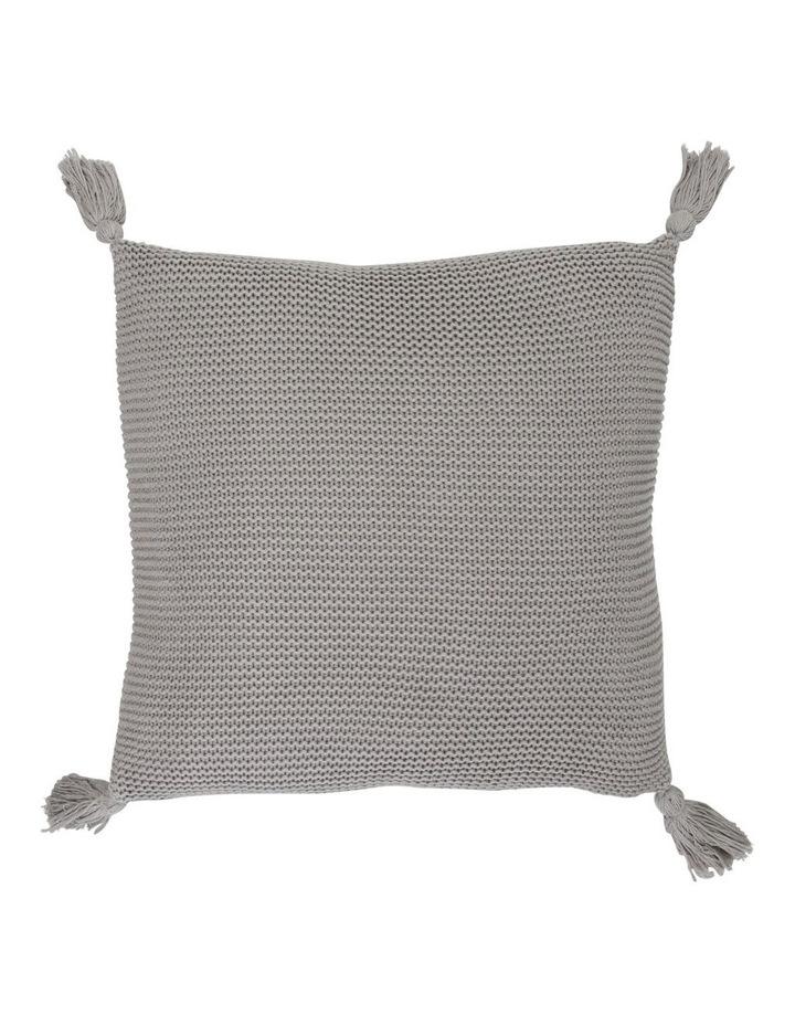 Melaky Knit Tassel Cushion image 1