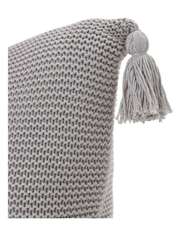 Melaky Knit Tassel Cushion image 2
