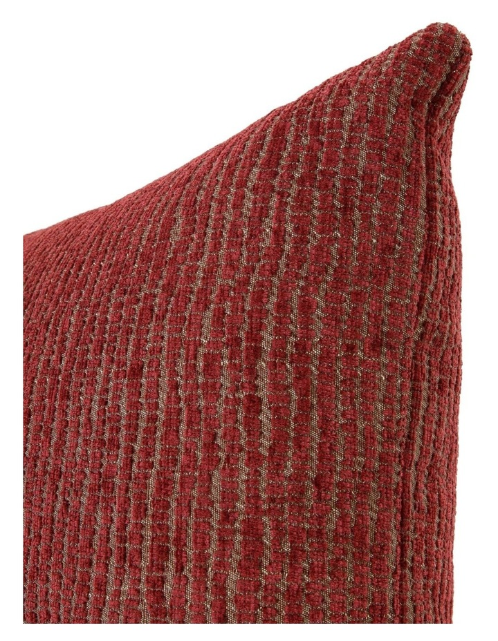 Nadini Chenille Cushion - Apple Butter/Gold image 2