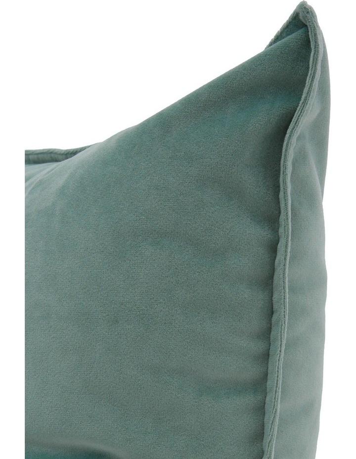 Vivienne Velvet Cushion in Turquoise image 2
