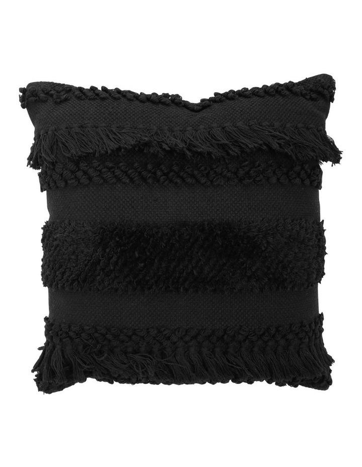 Tahiti Cushion in Black image 1