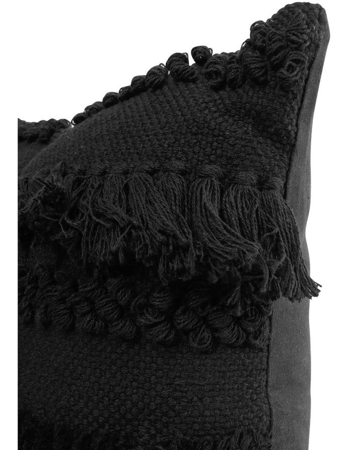 Tahiti Cushion in Black image 2
