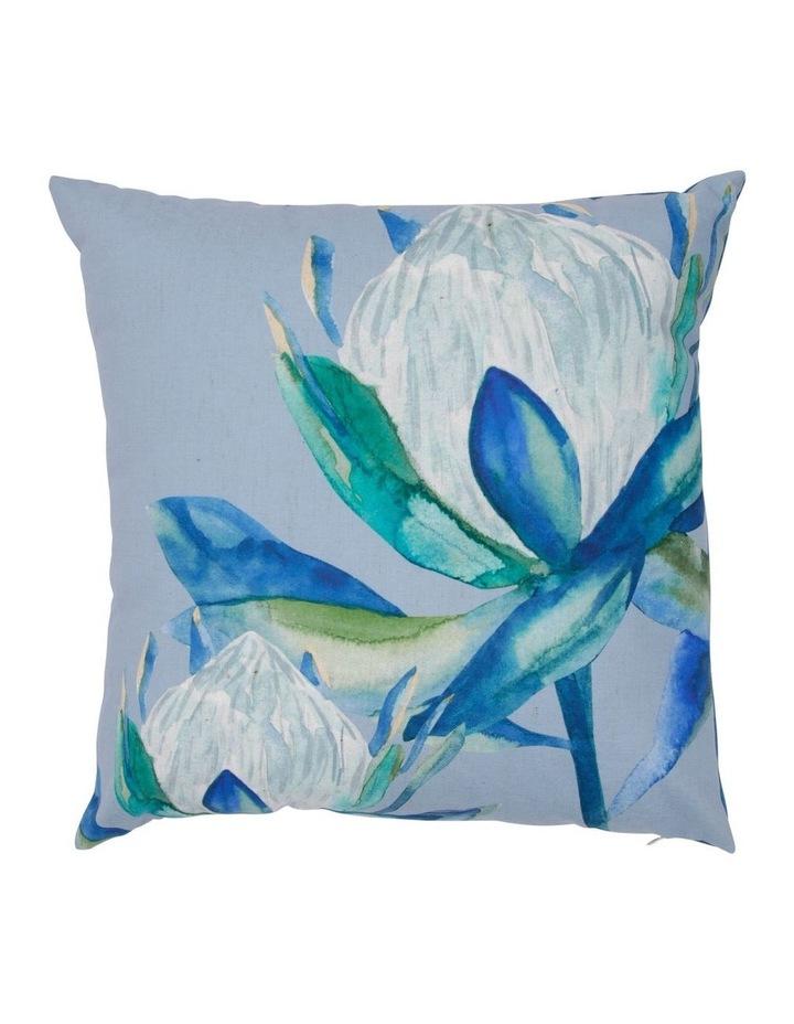 Protea Watercolour Print Cushion image 1