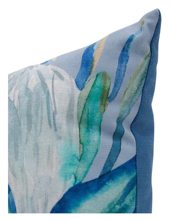 Protea Watercolour Print Cushion image 2