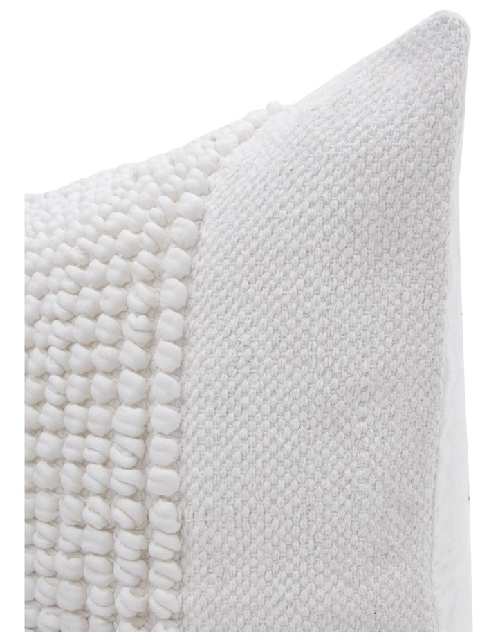 Belongil Cushion with Looped Centre in Off-White image 2